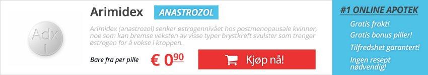 Kjøp Arimidex