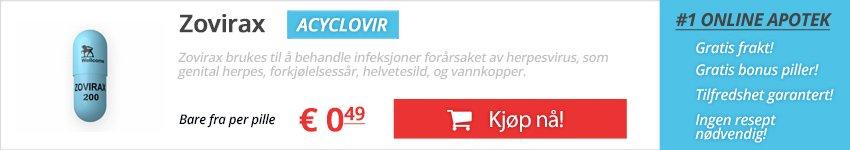 Kjøp Zovirax